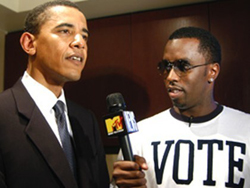 Diddy and Obama